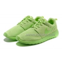 送料無料 Nike Roshe Run Junior Womens Green Shoes