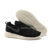 Nike Roshe Run Mesh Mens Coal Black Charcoal Shoes 格安特別