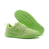 送料無料 Nike Roshe Run Mesh Women Green Shoes