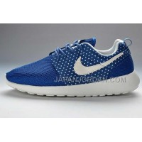送料無料 Nike Roshe Run Mesh Womens Blue White Amour Pattern Shoes