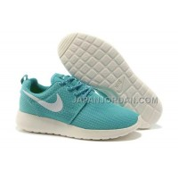 送料無料 Nike Roshe Run Mesh Womens Pink Blue White Shoes