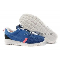 Nike Roshe Run NM BR Mens Military Blue Sail Midnight Navy Shoes 格安特別