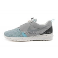 Nike Roshe Run Suede Mens 3M Reflective Grey Ice Blue White Shoes オンライン