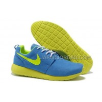 Nike Roshe Run Suede Mens Blue Janue Shoes オンライン