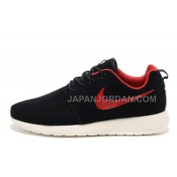 Nike Roshe Run Suede Mens Premium Anthracite Black Alarm Red Sail White Shoes オンライン