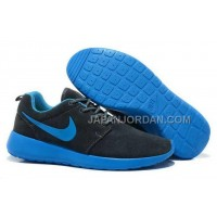 Nike Roshe Run Suede Womens Dark Blue Shoes ホット販売