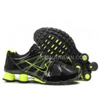 新着 Nike Shox Agent Mens Black Green