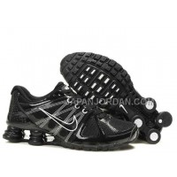 新着 Nike Shox Agent Mens Black White