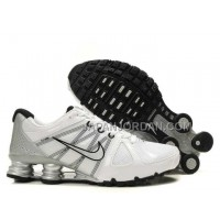 新着 Nike Shox Agent Mens White Gray