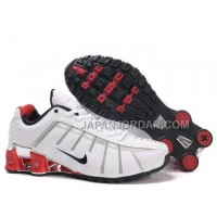 新着 Nike Shox NZ III Third Mens White Red