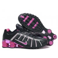 新着 Nike Shox NZ III Third Womens Black Pink