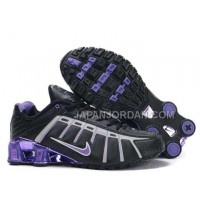 新着 Nike Shox NZ III Third Womens Black Purple