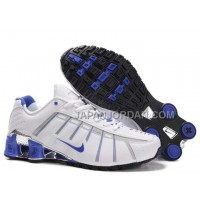 Nike Shox NZ III Third Womens White Blue ホット販売
