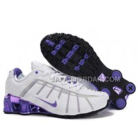 新着 Nike Shox NZ III Third Womens White Purple
