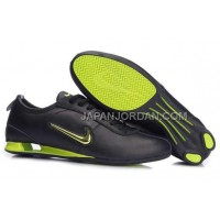 Nike Shox R3 9002 Mens Black Green ホット販売