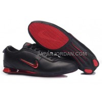 Nike Shox R3 9002 Mens Black Red ホット販売