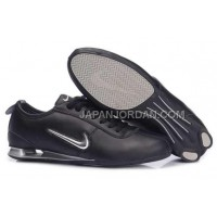 新着 Nike Shox R3 9002 Mens Black White