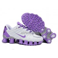新着 Nike Shox TLX Womens White Purple