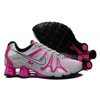 新着 Nike Shox Turbo+13 Womens Gray Pink
