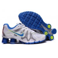 新着 Nike Shox Turbo+13 Womens White Blue