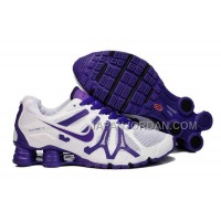 新着 Nike Shox Turbo+13 Womens White Purple