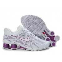 新着 Nike Shox Turbo 12 Womens Leather White Purple