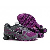 新着 Nike Shox Turbo 12 Womens Mesh Grey Purple