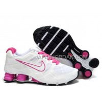 新着 Nike Shox Turbo 12 Womens Mesh White Red