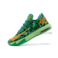 割引販売 Nike Zoom KD Vi Basketball Easter Shoes For In Grass Green