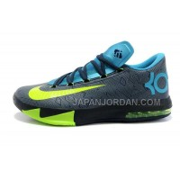 割引販売 Nike Zoom KD Vi Mens Black Blue Gray