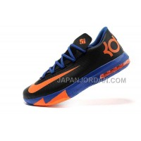 割引販売 Nike Zoom KD Vi Mens Black Orange