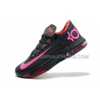 割引販売 Nike Zoom KD Vi Mens Black With Peach Logo