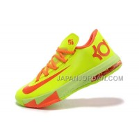 割引販売 Nike Zoom KD Vi Mens Fluorescence Yellow