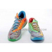 割引販売 Nike Zoom KD Vi Mens Geometry Black Orange Green