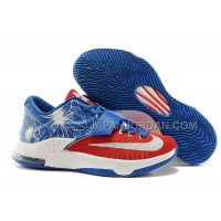 オンライン Nike Zoom KD Vii Mens Blue Red