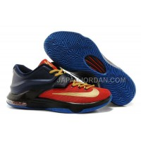 オンライン Nike Zoom KD Vii Mens Navy Red Gold