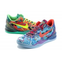 オンライン Nike Zoom Kobe Ix Mens Mandarin Duck Blue Red