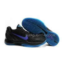 オンライン Nike Zoom Kobe Vi Mens Black Purple Blue