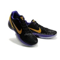 オンライン Nike Zoom Kobe Vi Mens Black Purple Gold