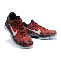 オンライン Nike Zoom Kobe Vi Mens Red Black White