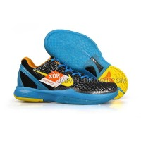 オンライン Nike Zoom Kobe Vi Mens Silver Blue Black Yellow