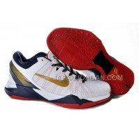 ホット販売 Nike Zoom Kobe Vii Mens White Red