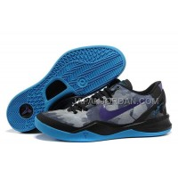 ホット販売 Nike Zoom Kobe Viii Mens Black Sky Blue