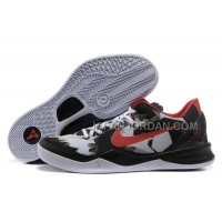 ホット販売 Nike Zoom Kobe Viii Mens White Black Red