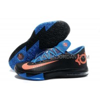 ホット販売 Nlke KD Vi Mens Black Orange