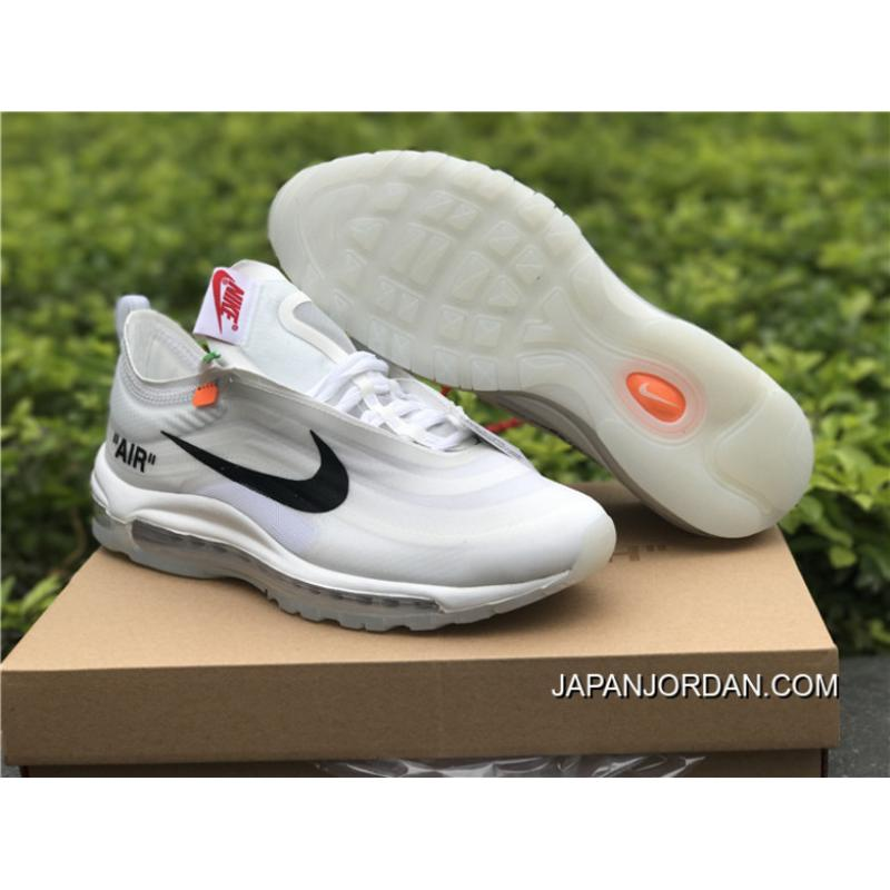 5a40f5555c70 Women Men Off-White X Nike Air Max 97 OG White New Style