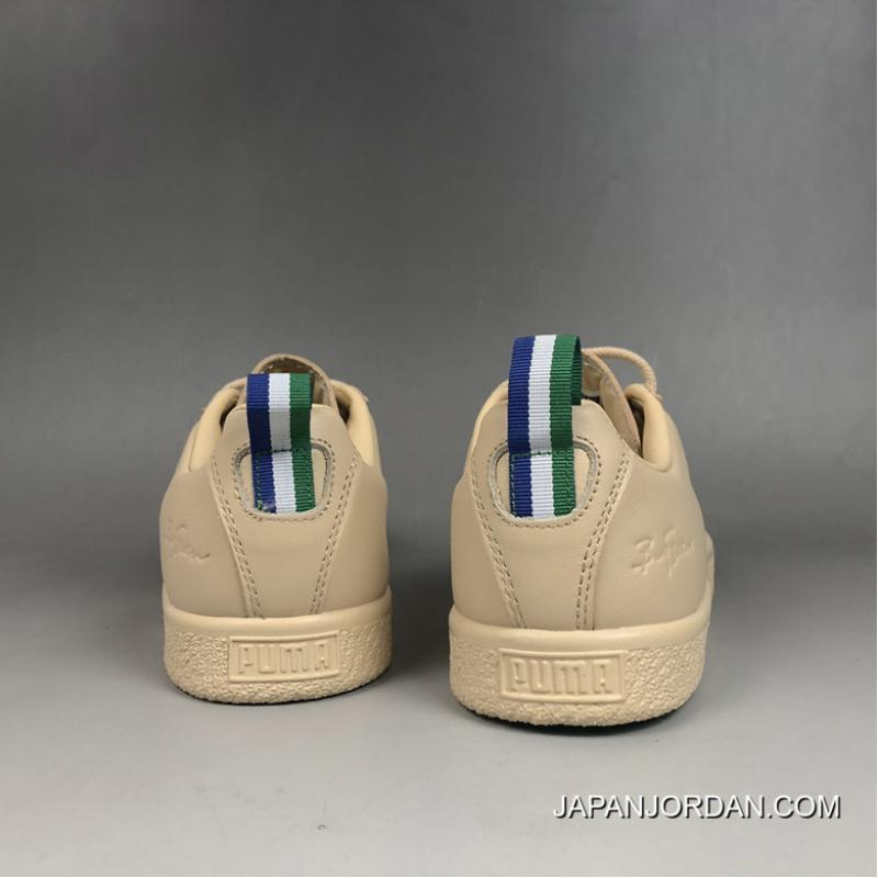 reputable site c3e12 3b556 Women/Men New Release Puma X Big Sean Clyde Natural Vachetta ...