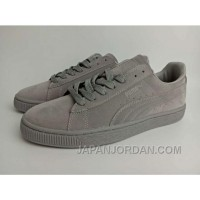 PUMA SPORTSTYLE SUEDE Dark Grey Women/men Free Shipping