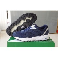 Puma R698 362570-03 Blue White Women/Men Cheap To Buy