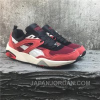 Puma R698 Classic Vintage Running Shoes Red Women/men Discount